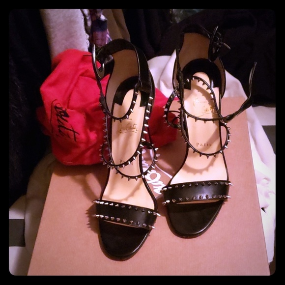 9fee25ef41cf Christian Louboutin Shoes - Christian Louboutin Choca Spikes